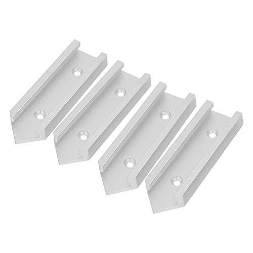 4 Stks Aluminium T-Track Connector Miter Track Jig Fixture Slot DIY Houtbewerking Accessoires voor Router Tafel