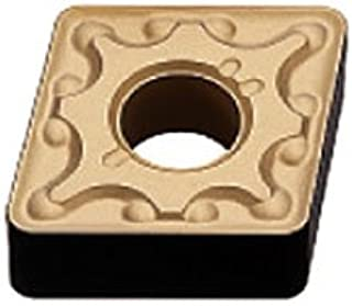 Standard Breaker 0.02 Corner Radius 0.375 IC PVD Coated Mitsubishi Materials CCMT32.51 VP15TF Carbide CC TYPE Positive Turning Insert with Hole 0.156 Thick Rhombic 80/° Pack of 10