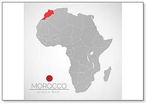 Kühlschrankmagnet Marokko, Afrika