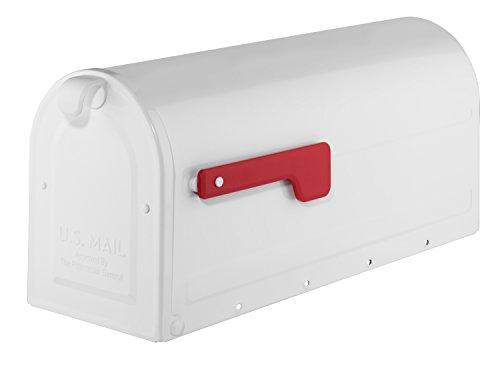 Architectural Mailboxes 7600W-10 MB1 Mailbox, Medium, White