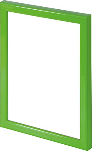 Wallazz Cornice PORTAFOTO in Legno da Parete, Made in Italy, Stile COLORATO, Dimensione 20X30 CM, Colore Verde