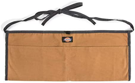 Black Geboor Gardening Tool Waist Bag Belt Heavy Duty Oxford Tool Apron with 7 Pockets of Different Sizes and Depth