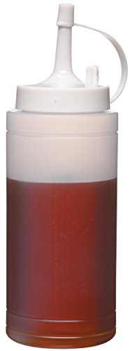 Kitchen Craft Bottiglia di Salsa, Bianco, 225 ml