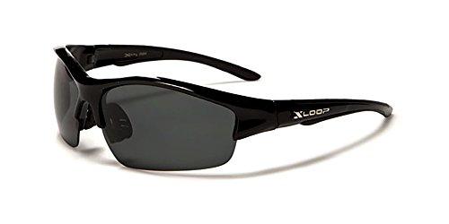 X-Loop Aurora Gafas de Sol Polarizadas - Deporte - Esqui - Ciclismo - UV400 (UVA y UVB)