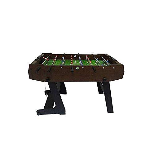 SYXX Klapptisch Fußball-Tabelle, Foosball Spiele, Kicker Indoor/Outdoor Acht-Sitzer Tisch, Erwachsene Kinder Eltern-Kind-Spielwaren, Heim Erwachsene Tischfußball Maschinen