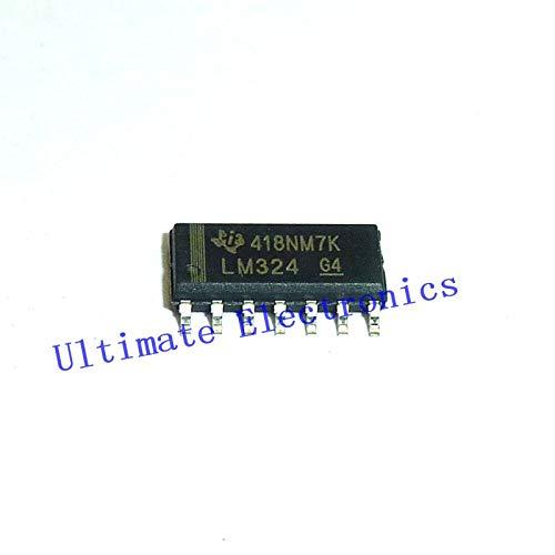 10 Stück/Los LM324 SOP14 Quad-Operationsverstärker OP-Verstärker SOIC14