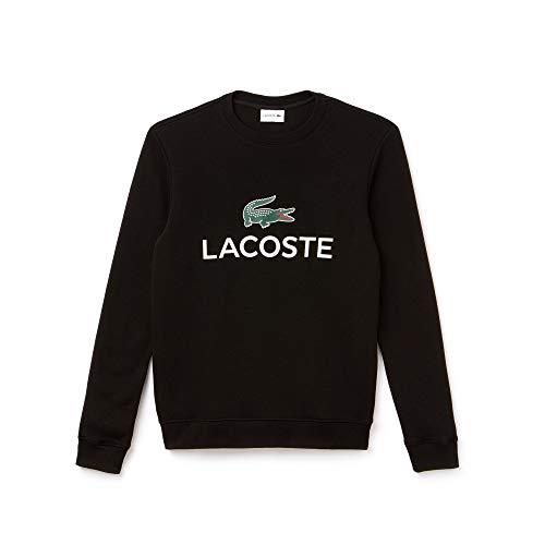 Lacoste Herren Sh0605 Sweatshirt, Schwarz (Black 031), X-Large (Herstellergröße: 6)