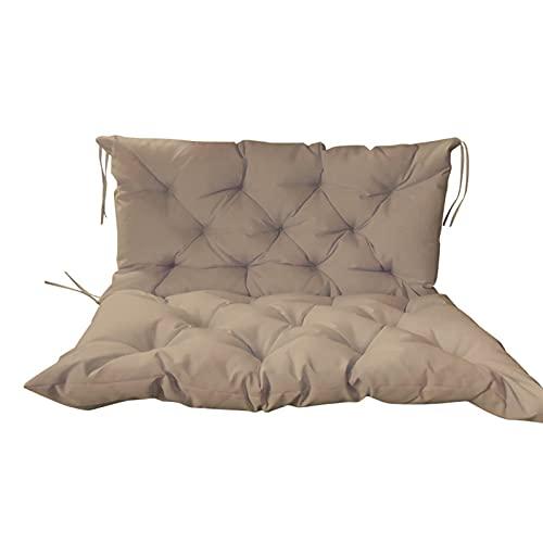 Cuscino Imbottito per Poltrona Sdraio Relax, Cuscini da Giardino, Schienale per Panca Cuscini reclinabili per Pausa Pranzo Cuscini per sedie a Dondolo Esterno