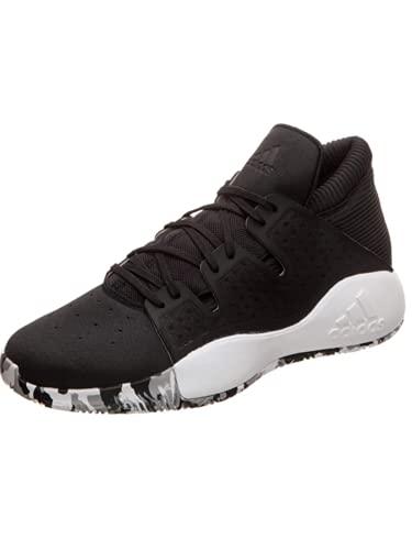 adidas Performance Pro Vision Basketballschuh Herren schwarz/weiß, 11.5 UK - 46 2/3 EU - 12 US
