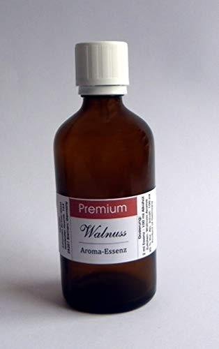 PREMIUM Aroma Essenz 100 ml konzentriert (Walnuss) für SPIRITUOSEN und Lebensmittel, Deutsches Produkt!