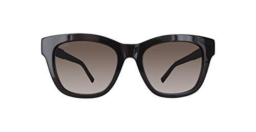 TOD'S TO0200 TO0200-48F-Braun Rechteckig Sonnenbrille 53, Braun