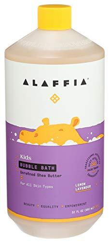 Alaffia Kids Bubble Bath, Lemon Lavender 32 FZ