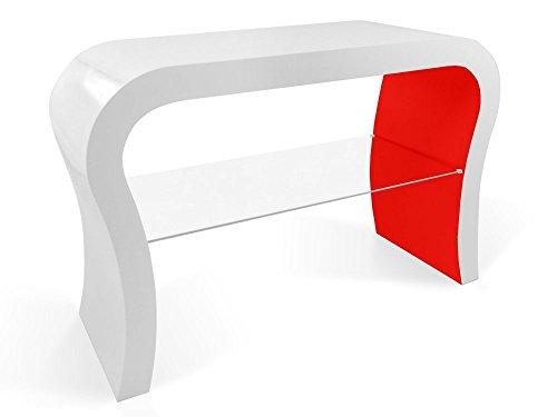 Zespoke Design Retro TV Conception de Meuble avec Étagère en Verre de Différentes Couleurs