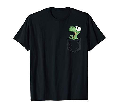 Mini Dinosaurier | Cooler Dino T-Rex in deiner Tasche T-Shirt