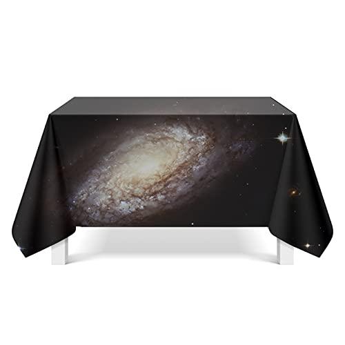 DSman Mantel de Mesa a Rayas Decoración de Hogar Arte Estrellado cósmico