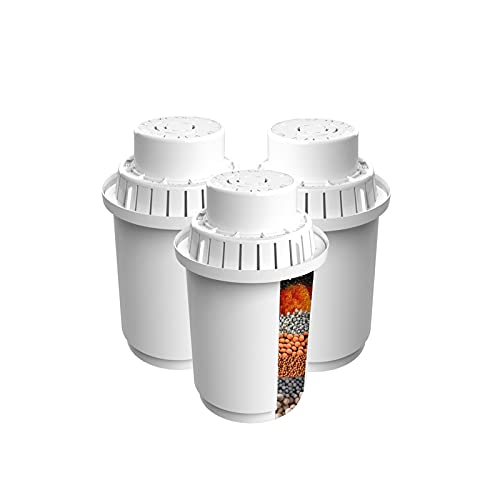 agua destilada Los filtros de reemplazo para el lanzador de filtros alcalinos. (WP5) 3.5L - 7 Sistema de filtración de ionizador de etapa para purificar y aumentar PH Niveles Filtro de agua para el fr