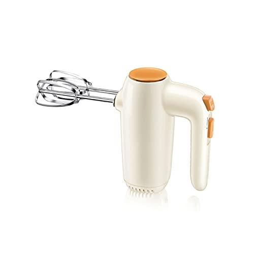 HUFFGOUT Mezclador de mano eléctrico doméstico,mezclador profesional de 5 velocidades de 5 velocidades,batidor eléctrico para cocina para hornear pastel de huevo crema de huevo,batidor de alimentos HU