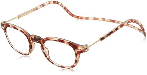 [クリックリーダー] 老眼鏡 Clic Vintage メンズ ライトトートイス 日本 +3.00-(FREE サイズ)