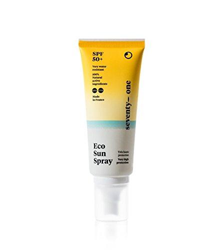 seventyone PERCENT - Spray Solaire ECO SUN SPRAY - SPF 50+ - 100% filtres minéraux - 100 ml
