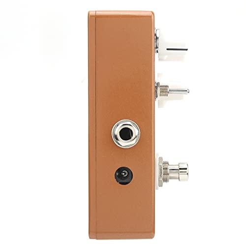 Pedal analógico Guiar AC, pedales de guitarra portátiles ajustables para todos los instrumentos para transmisión en vivo