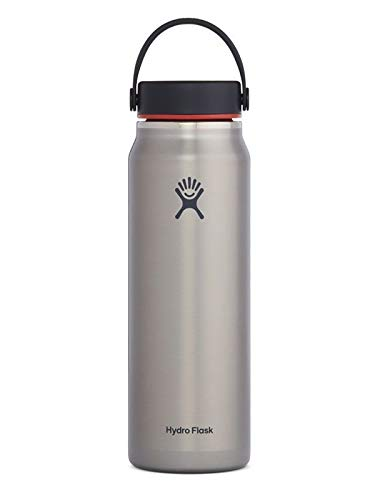 Hydro Flask Unisexe - Adulte Flex Cap Gourde Gris 904ml
