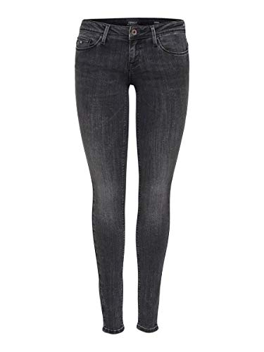 ONLY Female Skinny Fit Jeans ONLCoral sl 2732Dark Grey Denim