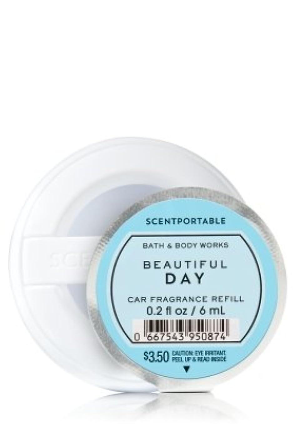 用心抑圧者ミス【Bath&Body Works/バス&ボディワークス】 クリップ式芳香剤 セントポータブル詰替えリフィル ビューティフルデイ Scentportable Fragrance Refill Beautiful Day [並行輸入品]
