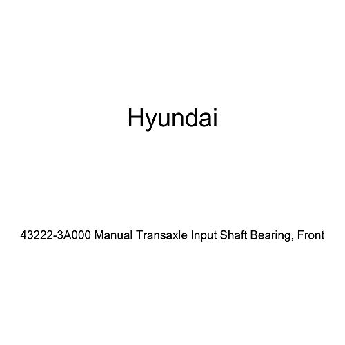 Genuine Hyundai 43222-3A000 Manual Transaxle Input Shaft Bearing, Front
