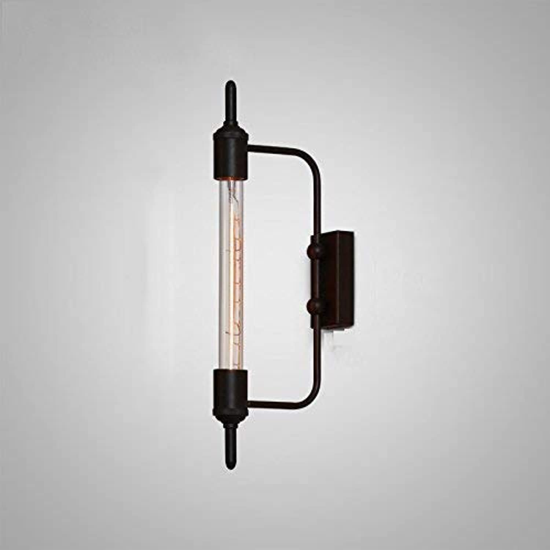 HhGold Retro Gehweg Living Room Bar & Creative Wandleuchte Eisen (Farbe   -, Gre   -)