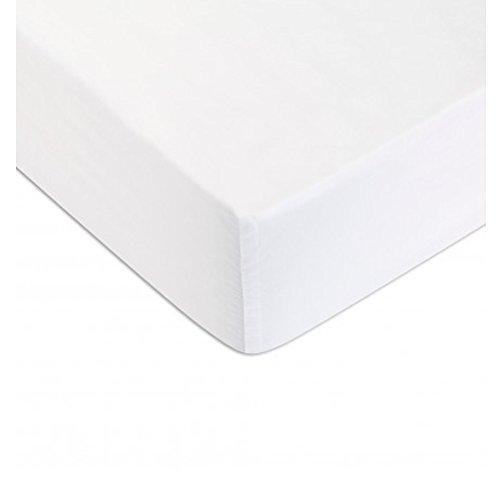 Descamps - Sábana bajera (115 hilos, 90 x 200 cm)
