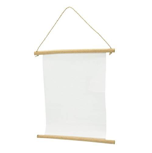 efco Wandhänger Schriftrolle Papier mit Leinenstruktur 25 x 29 / 20,5 cm