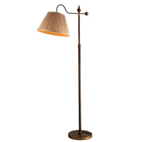 * Staande lamp retro woonkamer sofa verticale LED draadloze afstandsbediening slaapkamer bedlampje intrekbaar vloerlamp gebogen