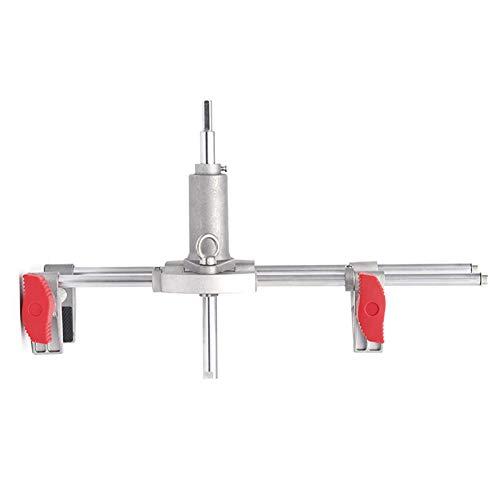 Staright Kit de embutidora de puerta con cerradura, cerrajero profesional, carpintería, sierra de agujero, instalación de abridor, juego de mantenimiento de herramienta de mortaja