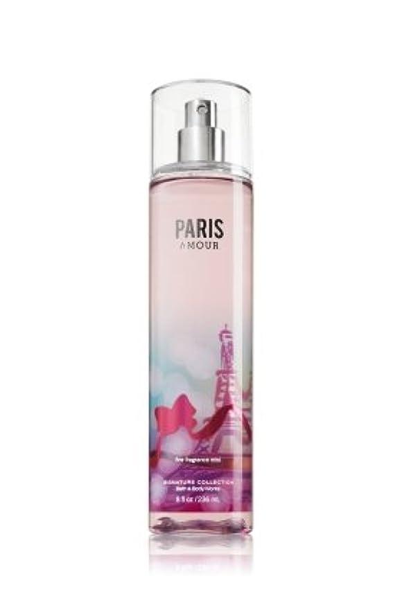 楕円形政治家のちなみにバス&ボディワークス パリスアモール ファイン フレグランスミスト Paris Amour Fine Fragrance Mist [海外直送品]