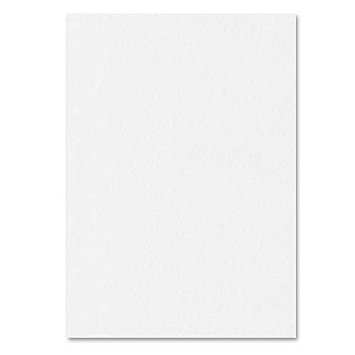 Weiß, A4 300 g/m² Farbige Papier Karton, 50 Blatt