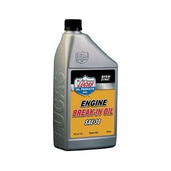 Lucas Oil 10630 30W Petroleum Break-In Oil - 1 Quart Bottle