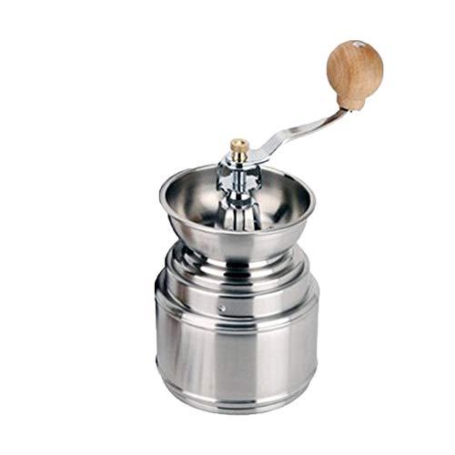 Manuelle KaffeemüHle Edelstahl-Mahlwerk Handgekurbelte KaffeemüHle, Handschleifender Kaffee Schmeckt Am Besten, Leise Und Tragbar