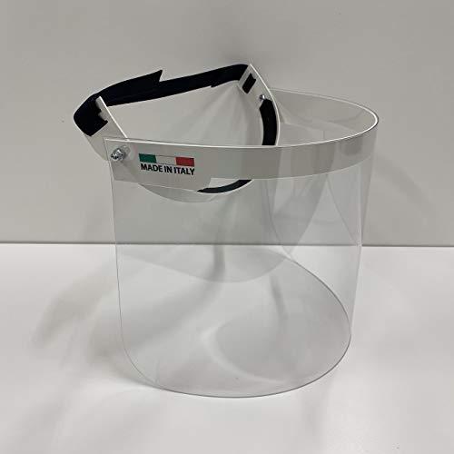 Mobila Visiera protettiva regolabile trasparente in PVC. Schermo sollevabile verticalmente. Prodotta in Italia.Wu220088