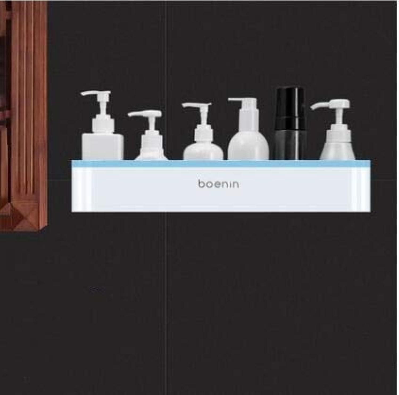 Bathroom - Wall-Mounted - Shower - Storage - Angle Bracket, bluee 2