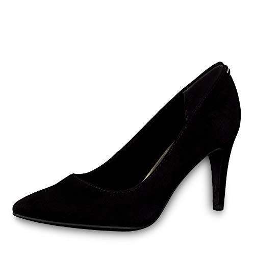 Tamaris Damen Pumps 22433-23, Frauen KlassischePumps, Court-Shoes Absatzschuhe Abendschuhe stöckelschuhe Damen Frauen weibliche,Black,36 EU / 3.5 UK