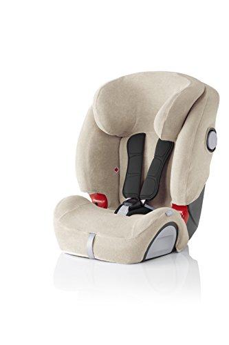 BRITAX RÖMER Housse Été pour siège auto EVOLVA 1-2-3 SL SICT, Légère et confortable, Beige