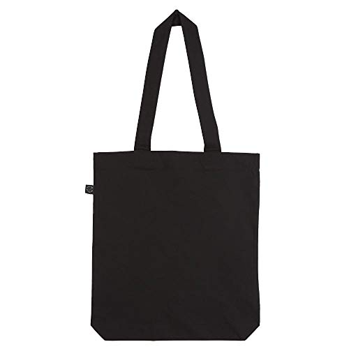 EarthPositive - Organic Fashion Bag / Black, 36x40x8 cm