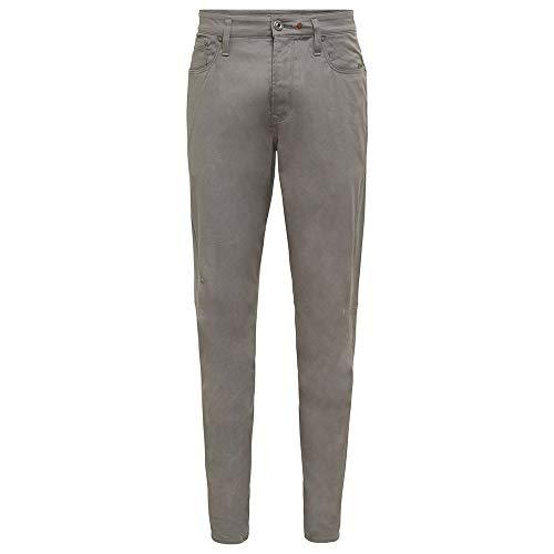 G-STAR RAW Scutar 3D Slim Tapered Pantalones, Lt Building C072-8166, 35W / 32L para Hombre