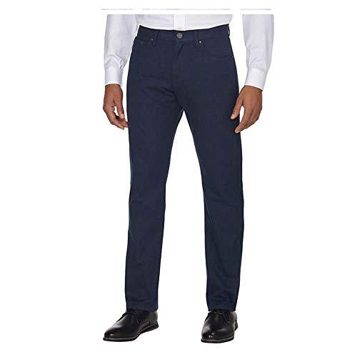 Calvin Klein Men's Straight Jeans (36Wx32L, Black Heather)
