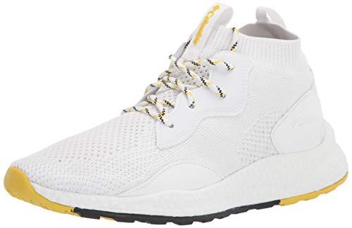 Columbia Women's SH/FT MID Breeze Hiking Shoe, White/Mineral Yellow, 5.5