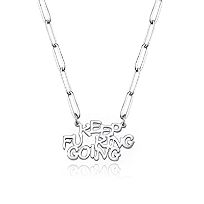 Amazon - 80% Off on 18K Gold Plated Inspirational Necklace