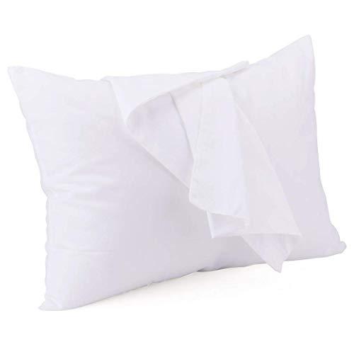 Tebery Kinder Kissen Mit Kissenbezug für Bett Schlafen Hypoallergenic Memory Schaum kinderkissen Neck-Protector für Kinder (3-12 Jahre)