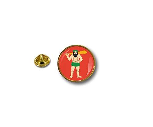 Akachafactory pinnen pin vlag nationale badge metalen revershoed knop Vest Lapland Finland