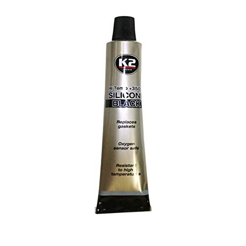 Cartucho de silicona resistente a altas temperaturas, 21 g, 350 ºC, color negro