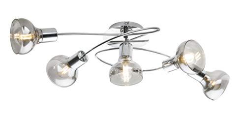 Globo - Lámpara de techo (lana, ahumada)